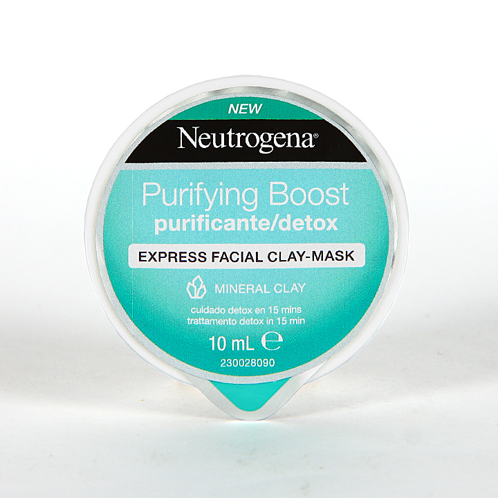 Farmacia Jiménez | Neutrogena Purifying Boost Mascarilla Express Purificante 10 ml
