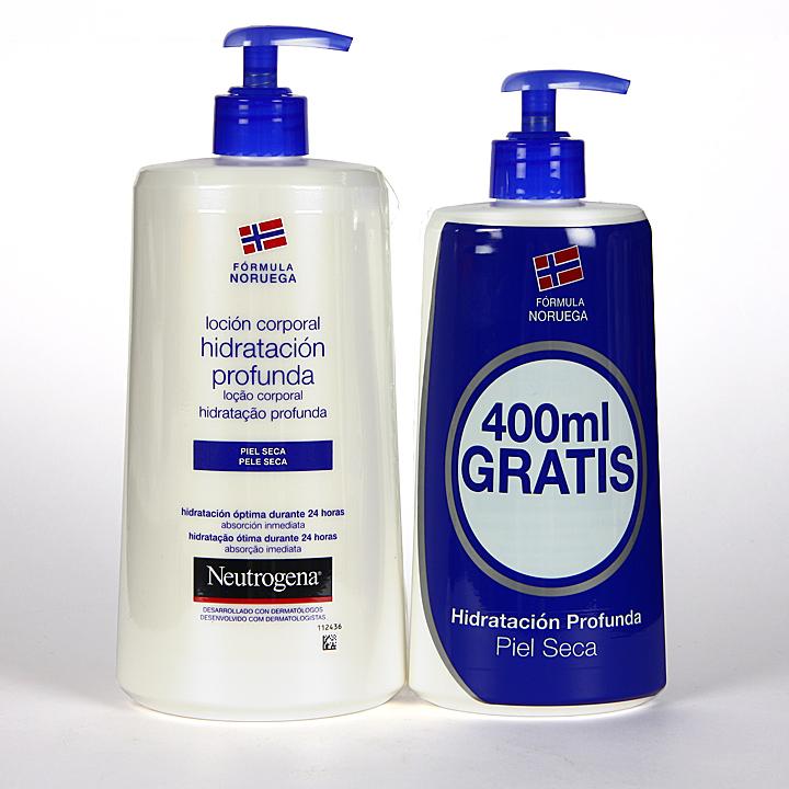 Farmacia Jiménez | Neutrogena Loción Corporal hidratación profunda piel seca 750 + 400 ml Gratis