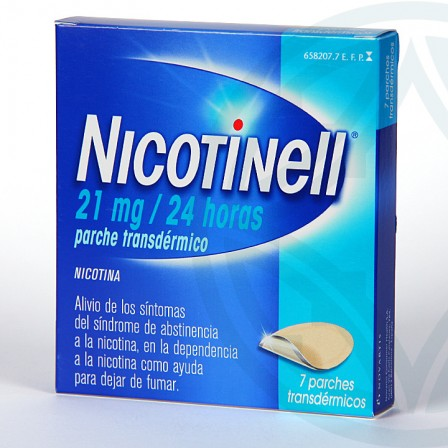 Farmacia Jiménez | Nicotinell 21 mg/24 horas 7 parches