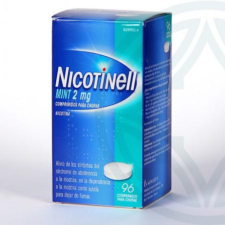 Farmacia Jiménez   Nicotinell Mint 2 mg 96 comprimidos para chupar