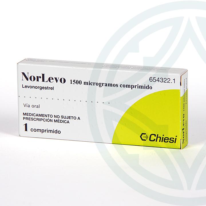 Farmacia Jiménez   Norlevo 1,5 mg 1 comprimido