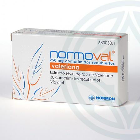 Farmacia Jiménez | Normoval 250 mg 30 comprimidos