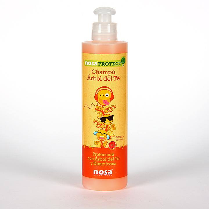 Farmacia Jiménez | Nosa Champú Árbol del Té olor pomelo 250 ml