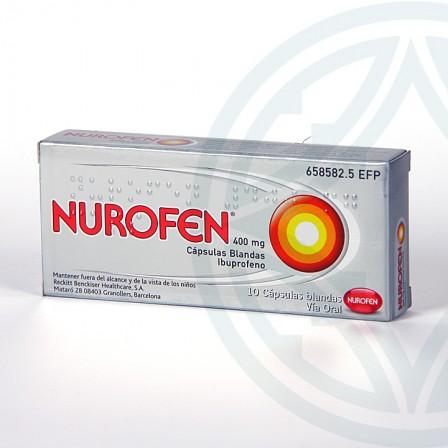 Farmacia Jiménez | Nurofen 400 mg 10 cápsulas