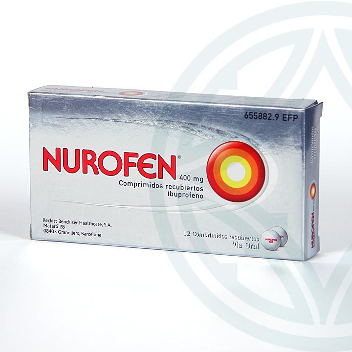 Farmacia Jiménez | Nurofen 400 mg 12 comprimidos