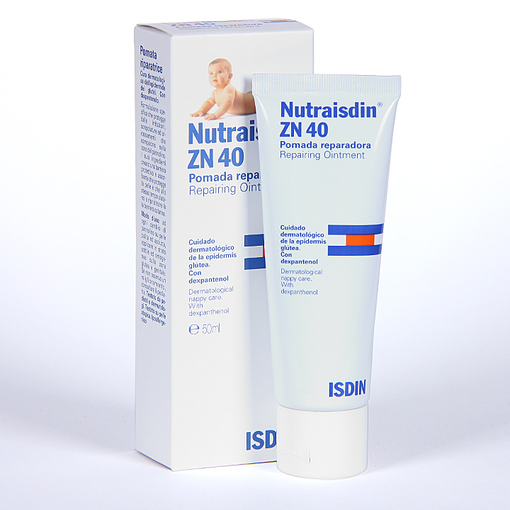 Farmacia Jiménez | Nutraisdin Zn 40 Pomada reparadora 50 ml