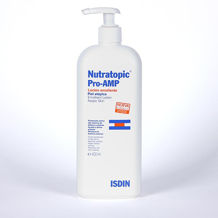 Farmacia Jiménez | Nutratopic Pro-AMP Loción emoliente 400 ml