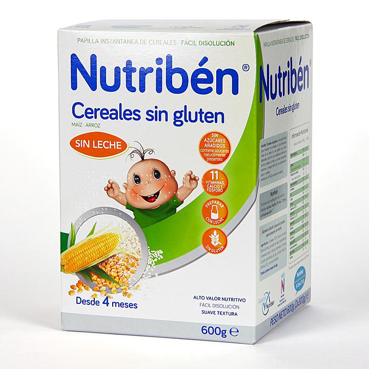 Farmacia Jiménez | Nutribén Cereales sin Gluten 600 g