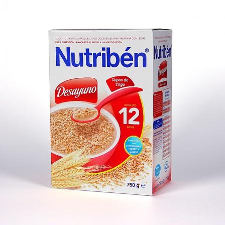 Farmacia Jiménez | Nutriben Desayuno Copos de Trigo 750 g