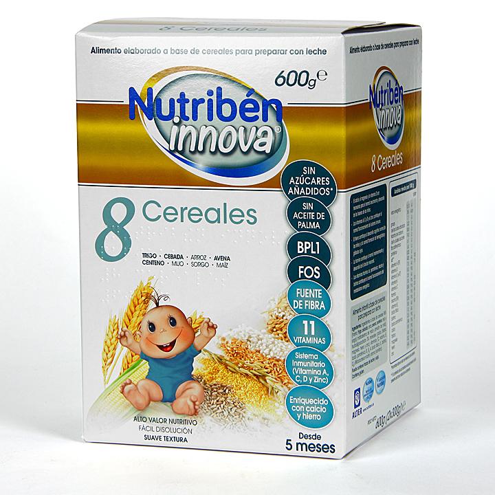 Farmacia Jiménez | Nutribén Innova 8 Cereales 600 g