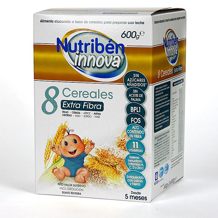 Farmacia Jiménez | Nutribén Innova 8 Cereales Extra Fibra 600 g