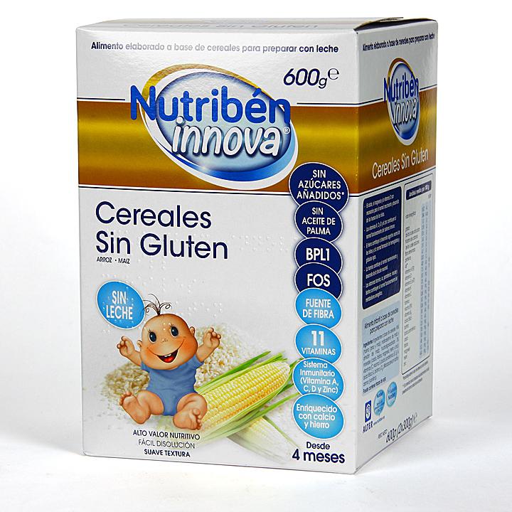 Farmacia Jiménez | Nutribén Innova Cereales Sin Gluten 600 g