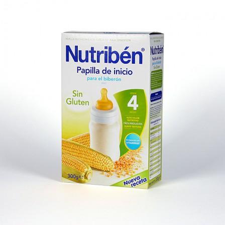 Farmacia Jiménez | Nutribén Papilla de Inicio para el biberón sin Gluten 300 g