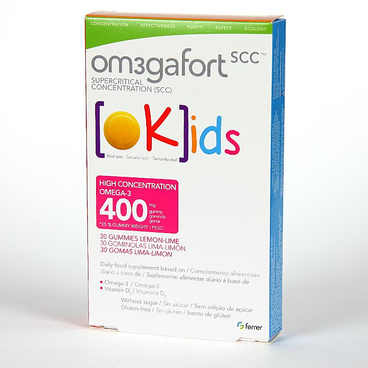 Farmacia Jiménez | Omegafort Okids 30 Gominolas