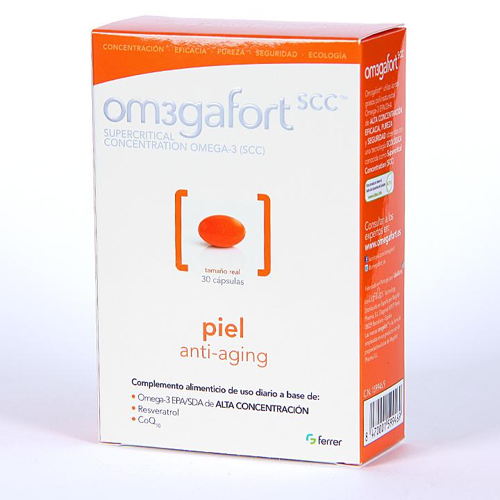 Farmacia Jiménez | Omegafort Piel anti-aging 30 cápsulas