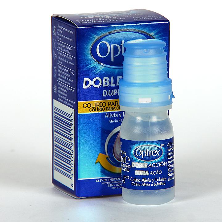 Farmacia Jiménez | Optrex Colirio Picor de Ojos Doble Acción 10 ml
