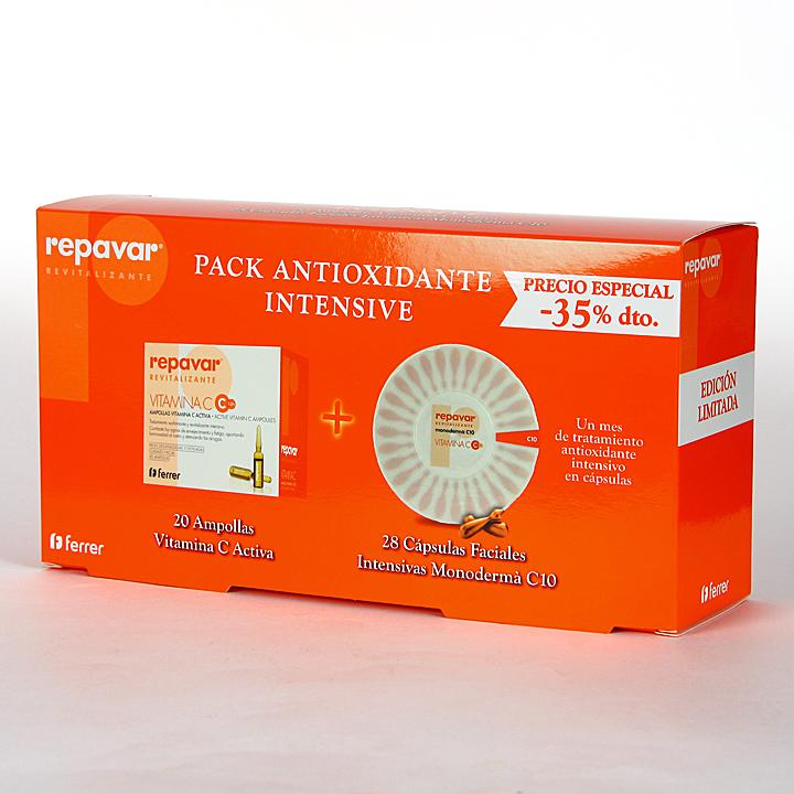 Farmacia Jiménez | Repavar Pack Revitalizante Antioxidante Intensivo -35%