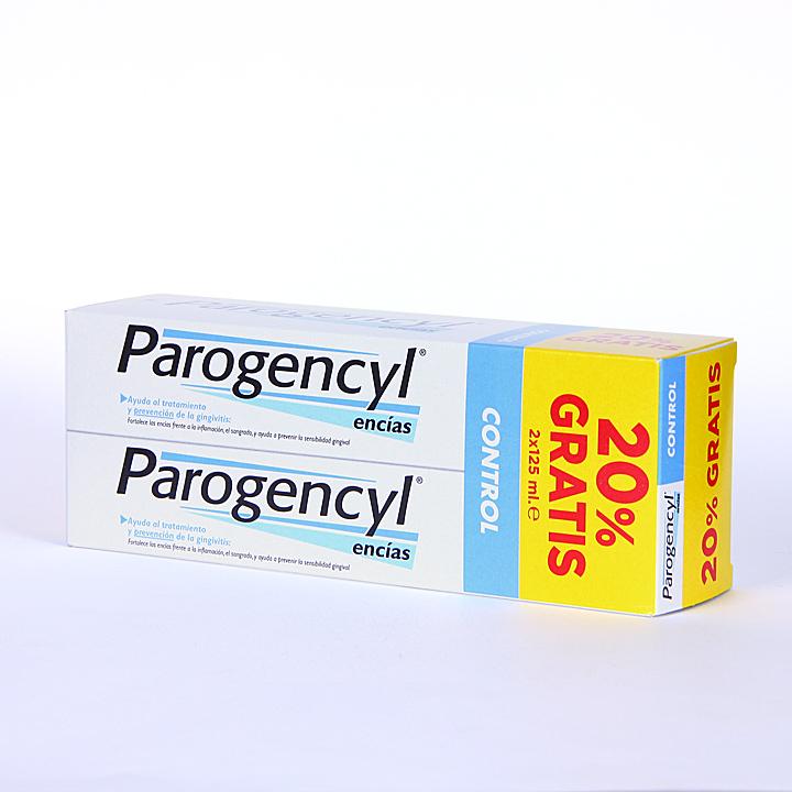 Farmacia Jiménez | Parogencyl Encías control Pasta dentífrica 125 ml Duplo