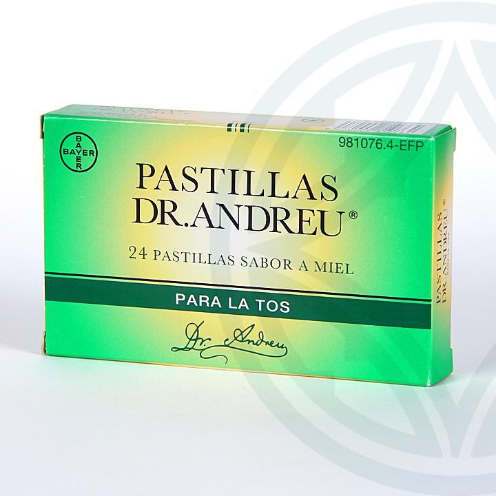 Farmacia Jiménez | Pastillas Dr Andreu 24 pastillas para chupar