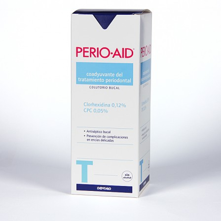 Farmacia Jiménez | Perio-aid Colutorio Tratamiento sin alcohol 500 ml