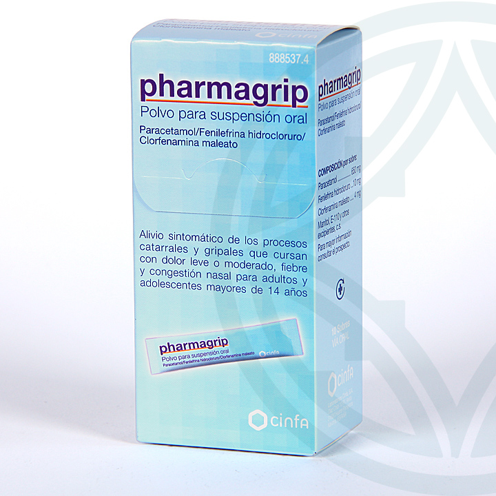 Farmacia Jiménez | Pharmagrip 10 sobres