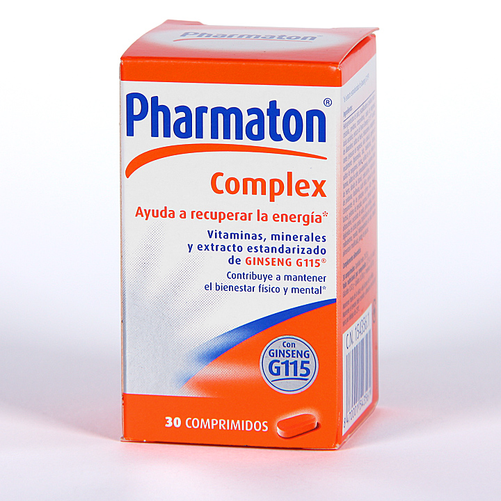 Pharmaton Complex Comprimidos - Farmacia Jiménez.