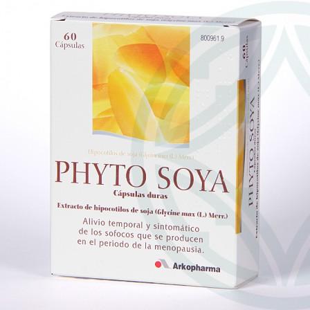 Farmacia Jiménez   Phyto Soya 175 mg 60 cápsulas