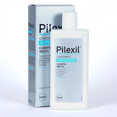 Farmacia Jiménez | Pilexil Anticaspa Champú caspa seca 300 ml