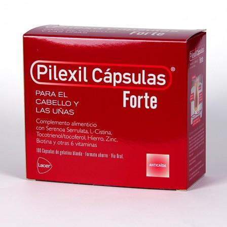 Farmacia Jiménez | Pilexil Forte Cápsulas anticaída 100 cápsulas