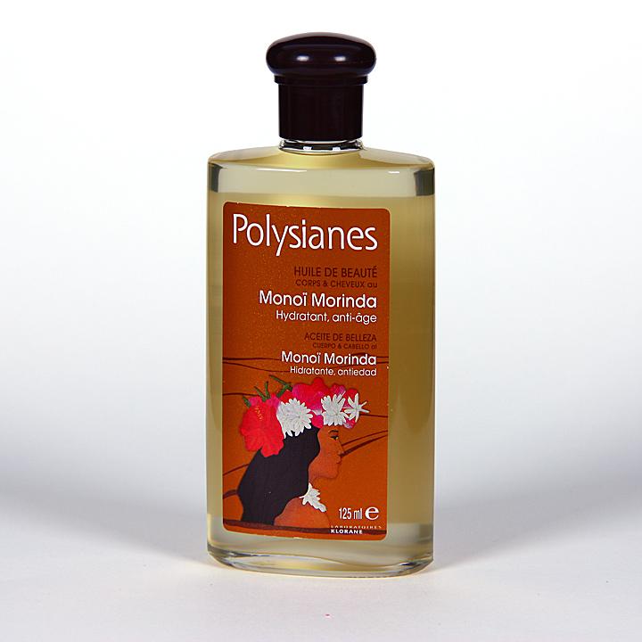 Farmacia Jiménez   Polysianes Klorane Aceite de Belleza cuerpo y cabello al monoï morinda 125 ml