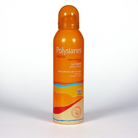 Farmacia Jiménez   Polysianes Klorane Spray Leche Sedosa SPF50 150ml