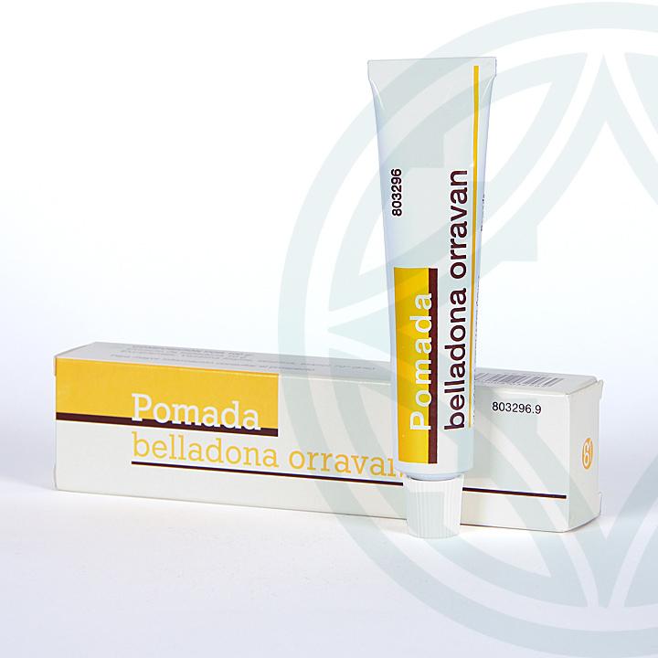 Farmacia Jiménez | Pomada Belladona Orravan 25 g