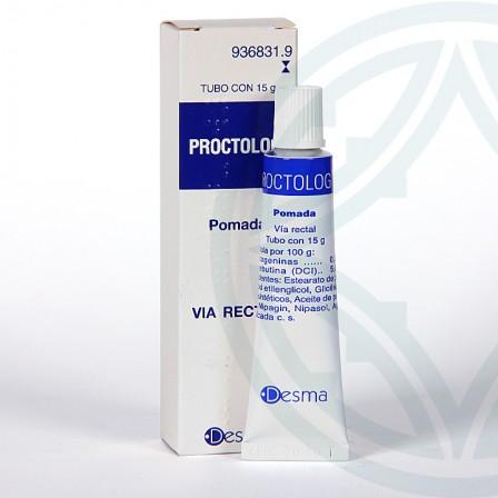 Farmacia Jiménez | Proctolog pomada rectal 15 g