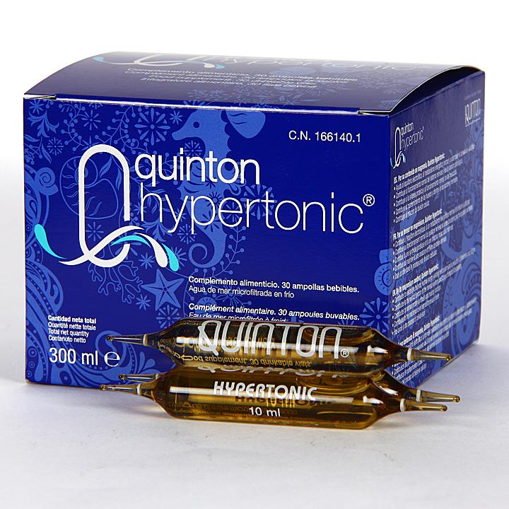 Farmacia Jiménez | Quinton Hypertonic 30 ampollas bebibles 10 ml