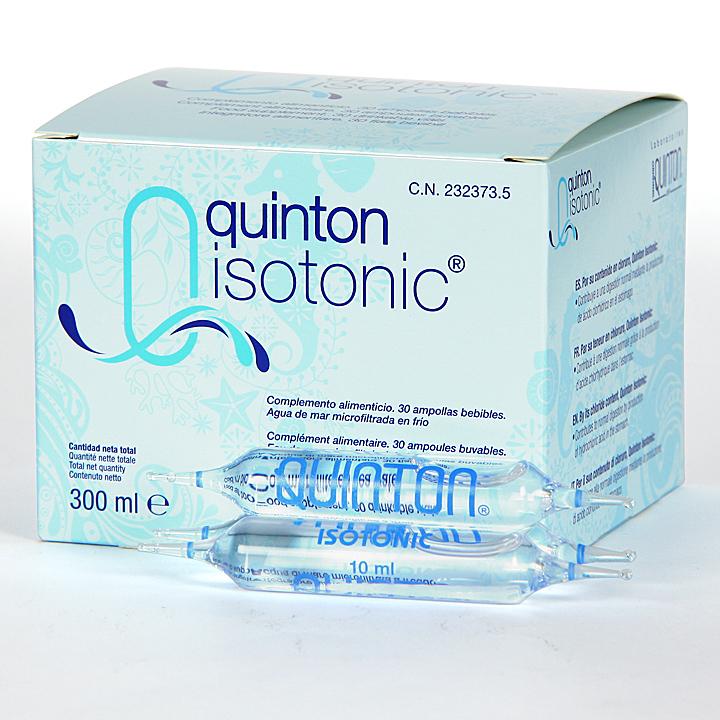 Farmacia Jiménez | Quinton Isotonic 30 ampollas bebibles 10 ml