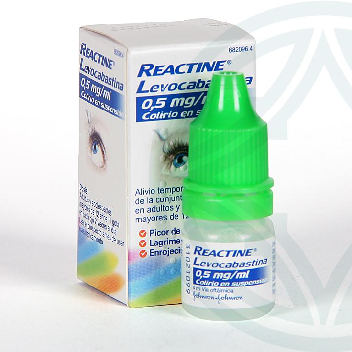 Farmacia Jiménez | Reactine Levocabastina colirio