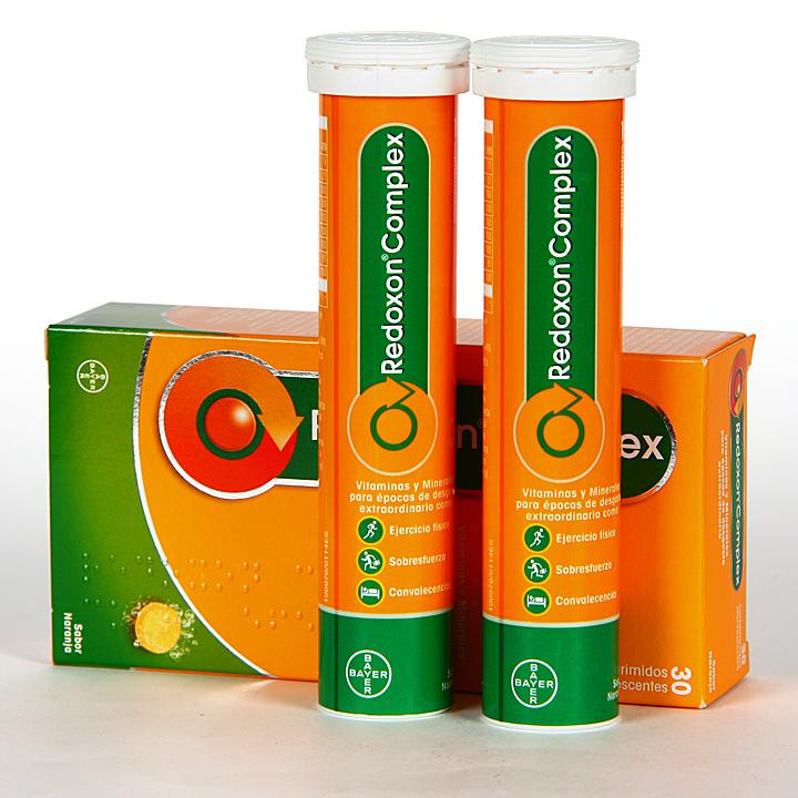 Farmacia Jiménez | Redoxon Complex 30 comprimidos efervescentes Naranja