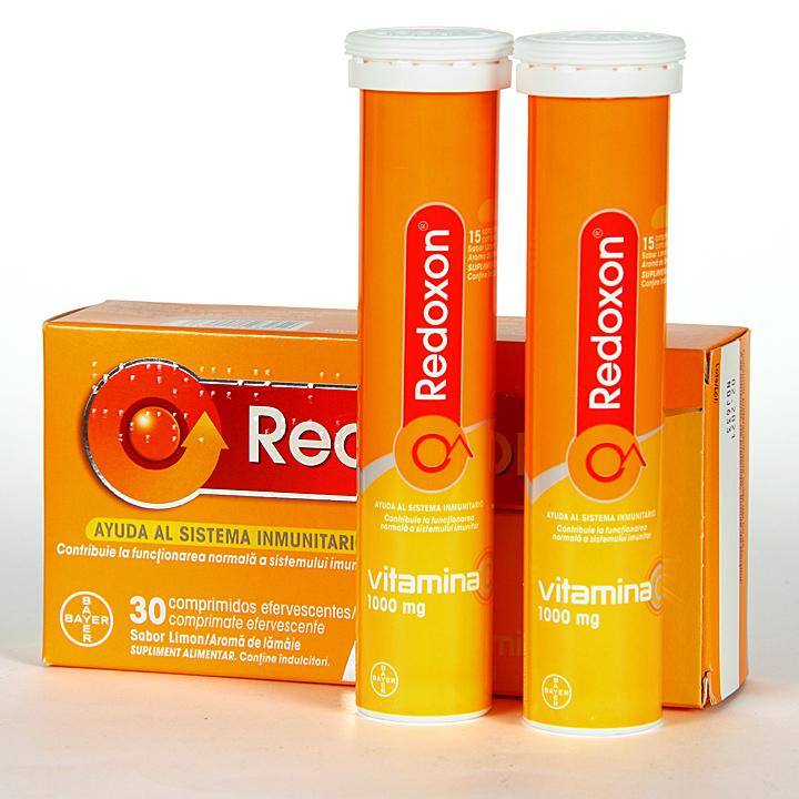 Farmacia Jiménez | Redoxon Vitamina C 30 comprimidos efervescentes Limón
