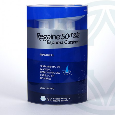Farmacia Jiménez | Regaine 50 mg/g espuma cutánea 180 g