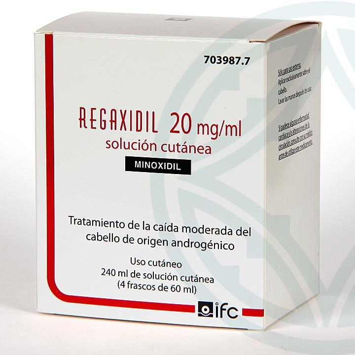 Farmacia Jiménez | Regaxidil 2% 20mg/ml Solución cutánea 240 ml