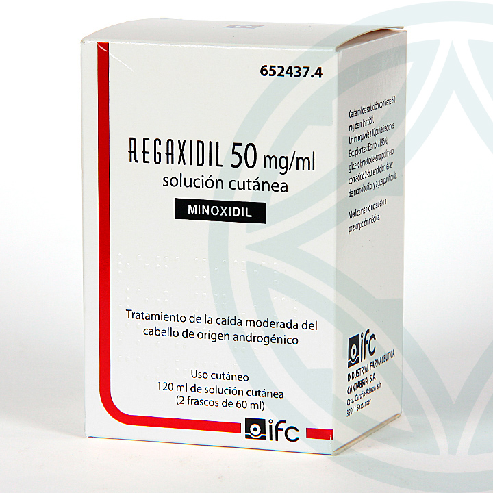 Farmacia Jiménez | Regaxidil 5% 50 mg/ml Solución Cutánea 120 ml