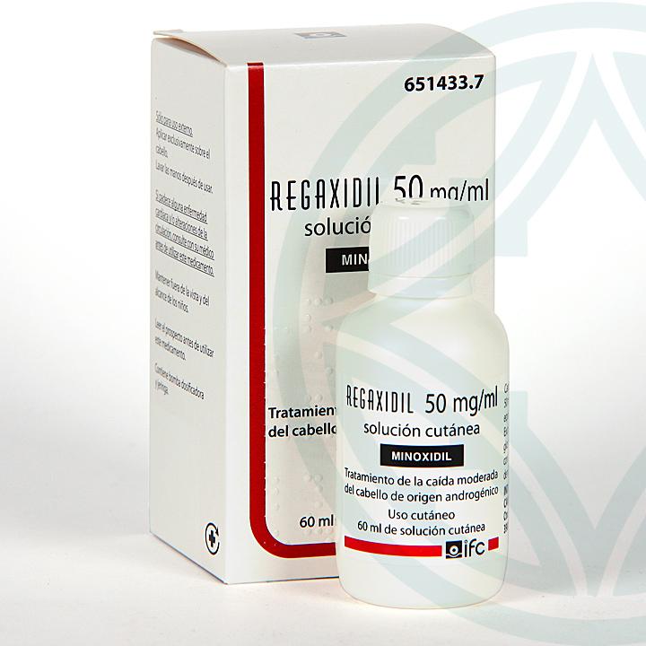 Farmacia Jiménez | Regaxidil 5% 50 mg/ml Solución Cutánea 60 ml