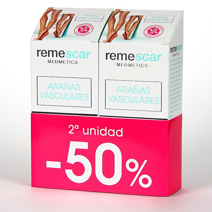 Farmacia Jiménez | Remescar Arañas Vasculares Crema 40 ml Pack Duplo
