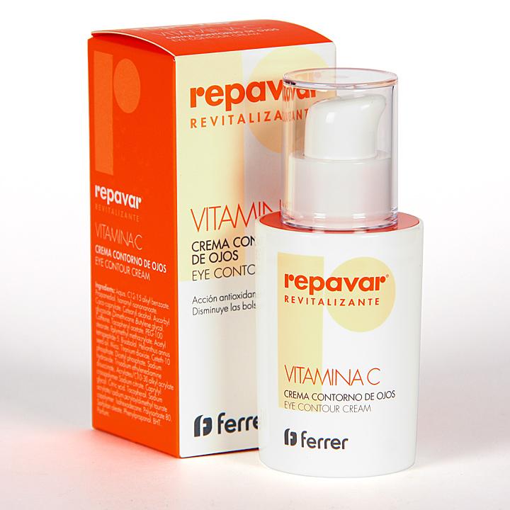 Farmacia Jiménez | Repavar Revitalizante Vitamina C Crema contorno de ojos 15 ml