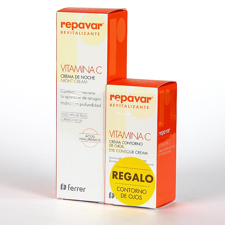 Farmacia Jiménez | Repavar Revitalizante Crema Noche + Contorno de ojos Pack Regalo