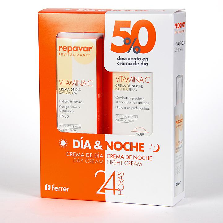 Farmacia Jiménez | Repavar Revitalizante Crema Día + Crema Noche Pack Promo