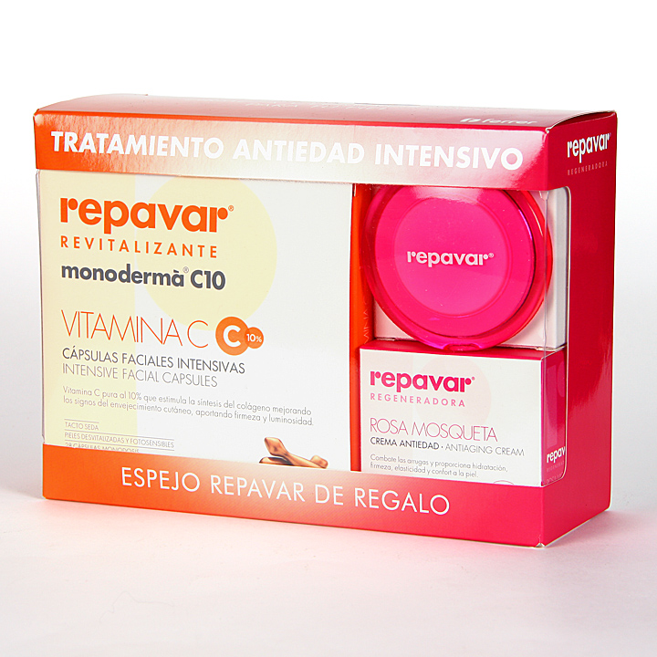 Farmacia Jiménez | Repavar Revitalizante Monoderma + Regeneradora Crema Antiedad Pack