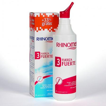 Farmacia Jiménez | Rhinomer Fuerza 3 fuerte + 33% gratis
