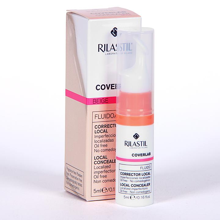 Farmacia Jiménez | Rilastil Cumlaude Coverlab fluido corrector Beige 5 ml