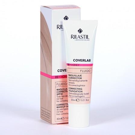 Farmacia Jiménez | Rilastil Cumlaude Coverlab Maquillaje Fluido Honey 02